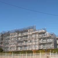 株式会社BRAST(ブラスト)/ 足場工事、中層物件、本足場、2012年のイメージ