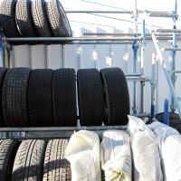 株式会社BRAST(ブラスト)/ その他の取り組み、タイヤラックのイメージ